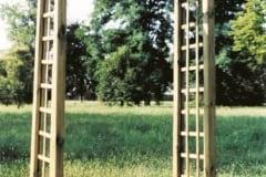 Arco per rampicanti in legno, passante ALFA, disponibili due misure
