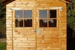 Casetta porta attrezzi  con doppia porta