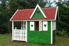 Casetta per bambini BIG in legno colorato