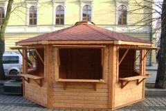 Chiosco Esagonale in legno