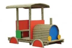 Locomotiva in legno Topolino