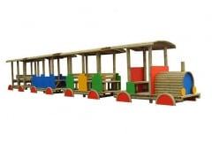 Trenino in legno Topolino