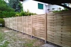 Pannelli in legno frangivento a listello liscio WIND