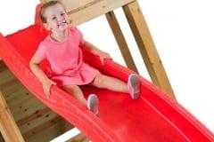 Scivolo per bambini in plastica HDPE Rosso