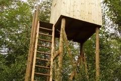 Torretta in legno per avvistamento