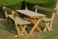 Set tavolo e sedie da giardino Aurora