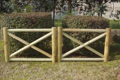 Cancello in legno mod. Livenza