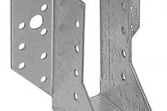 Scarpa per ancoraggio di travi in legno