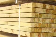 Travi in legno massello