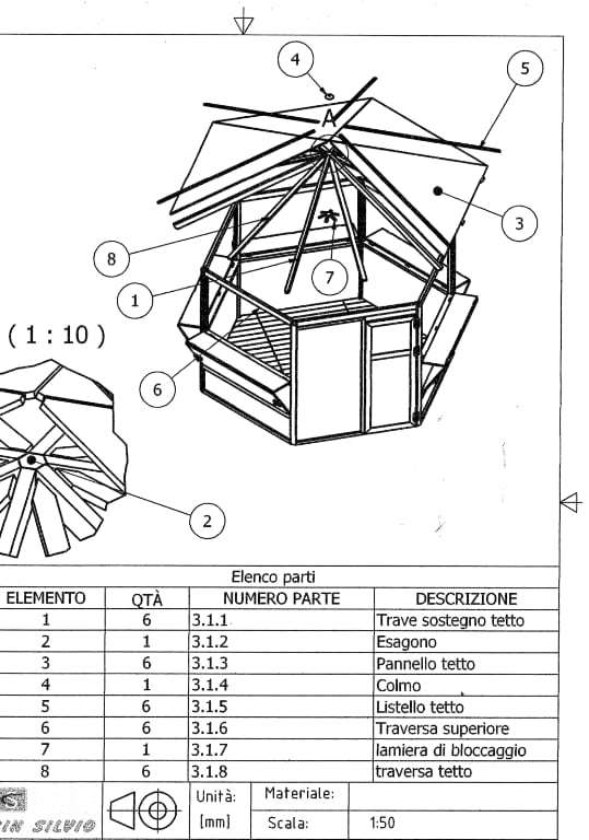 Disegno progettazione strutture in legno