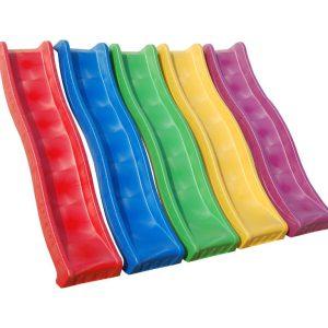 Scivoli per bambini in plastica colorata